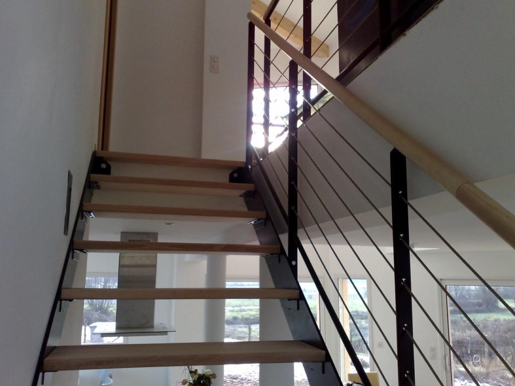 Ctf etienne escalier fer bois design ctf etienne - Escalier fer et bois ...